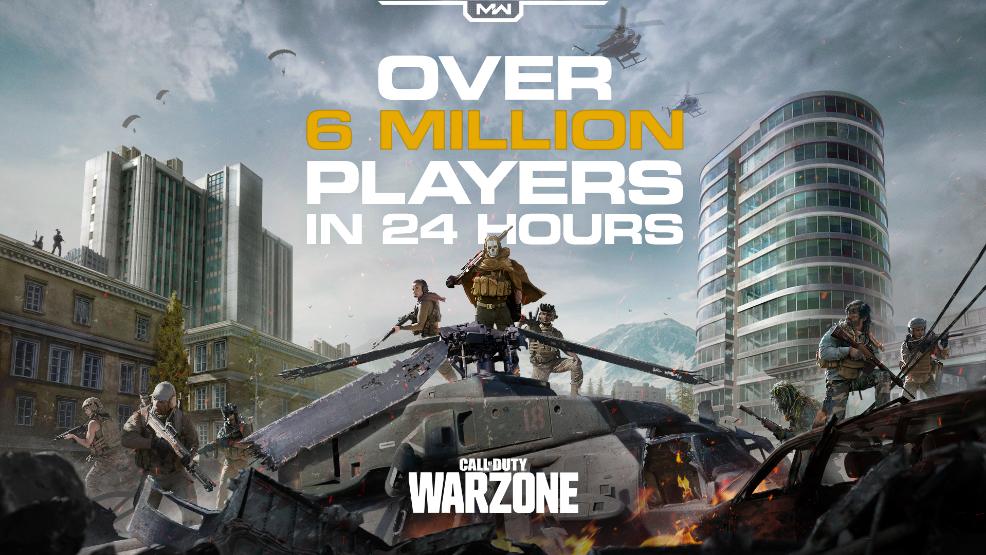 لعبة Call of Duty Warzone للكمبيوتر