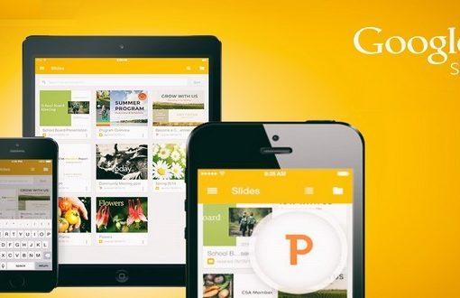 تطبيق مجاني لإنشاء عروض تقديمية حية عبر الانترنت من إنتاج شركة جوجل